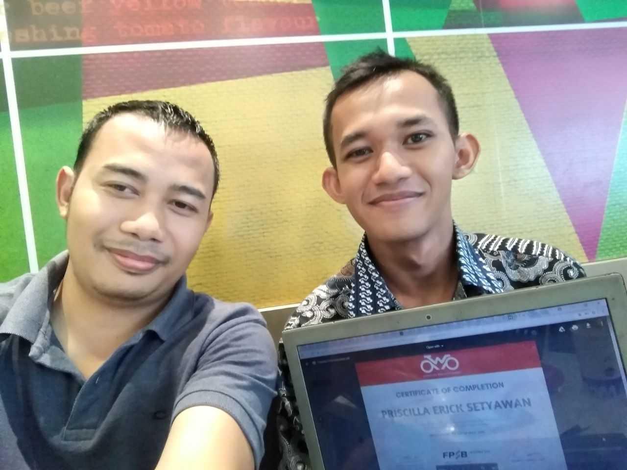 Training AWP Bapak Gembong Suwito